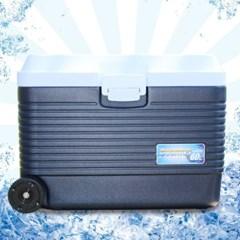 코스모스 아이스박스 60L (바퀴) WJ-780 / 캠핑용품 낚시용 아이스박