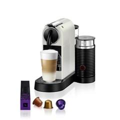 [네스프레소] 시티즈앤밀크 D122 에스프레소 캡슐 커피머신 화이트