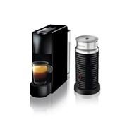 [네스프레소] 에센자미니 C30+에어로치노 캡슐 커피머신 BK+WH