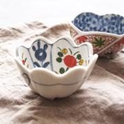 러블리 꽃잎 볼 - 작은 그릇 (찬기, 소스볼, 디저트볼)