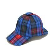 PFS SHERLOCK CAP - RED CHECK