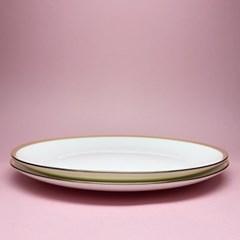 본차이나 골드라인 접시10.5(2P)