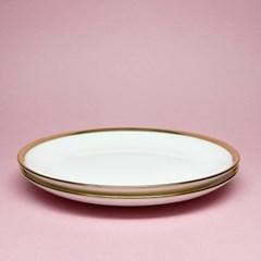 본차이나 골드라인 접시6.5(2P)