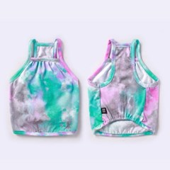 TIE-DYE CROPTOP SLEEVELESS [ TYPE 02 ]