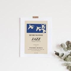 JAZZ 앙리마티스 그림 드로잉 액자 인테리어 포스터