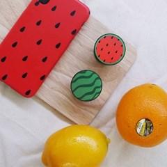수박 케이스+버튼톡(set)