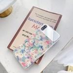 파스텔 데이지 플라워 셀카 미러 아이폰 케이스
