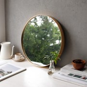 골드 원형 벽거울 - 중 40cm_(2702954)