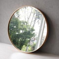 골드 원형 벽거울 - 대 50cm_(2702953)