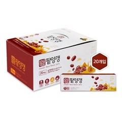 [행복담은식탁] 양갱 2박스세트 팥양갱+홍삼양갱 총40개입