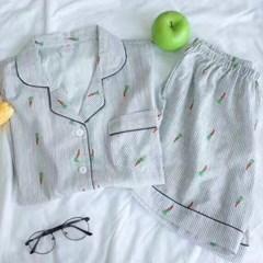 당근 여름 잠옷 세트