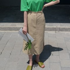 Fresh linen skirt(린넨50%)