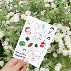 아뭉샵 Project2. Favorite Stickers
