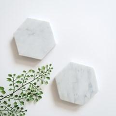 [marbled] 육각마블트레이 대리석코스터
