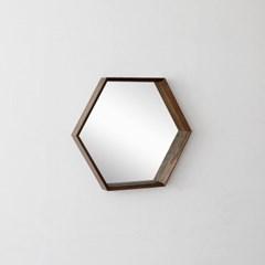[헤리티지월넛] B형 벽거울 육각형 700_(1306585)