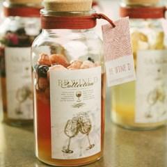 와인 담금주키트 리와인드 와인키트 잔 선물세트 딸기
