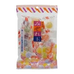 일본 과일맛 알 사탕 왕 눈깔 캔디 160g [오색 재팬 감성 수입 선물]