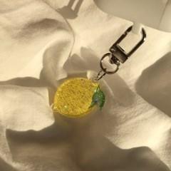[뮤즈무드] lemon key ring (키링)