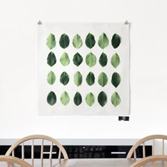 패브릭 포스터 S009 식물 보테니컬 액자 나뭇잎 패턴