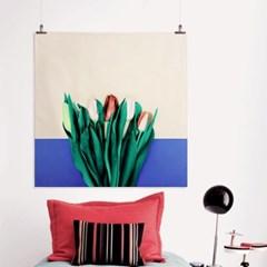 패브릭 포스터 S025 식물 꽃 보테니컬 아트 액자 튤립