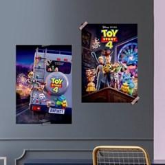 디즈니 인테리어 포스터 - 토이스토리4 5종