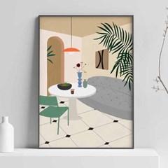 Home Series 일러스트 포스터 or 그림판넬