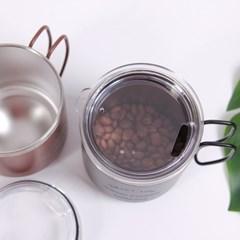 프라하 진공 스테인레스 뚜껑 머그컵