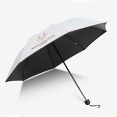 폭스 UV차단 수동 우산 양산