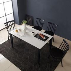 라보떼 라피네 세라믹4인식탁 일반의자세트 RF02