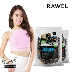 [로엘] 팝콩 서리태팡 영양간식 뻥튀기 300g 2봉