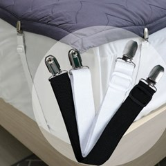 침대시트 고정집게 침대커버집게 밀림방지클립 4개