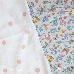 3D메쉬 양면 유아매트 - 밤비
