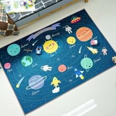 키즈 태양계 우주매트 놀이방매트 러그