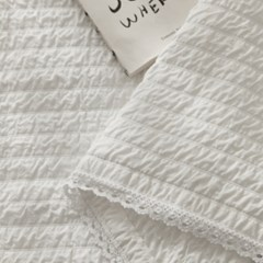 Lace modal ripple Summer sheet