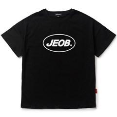OVER FIT JEOB TEE BLACK JBT00035-8