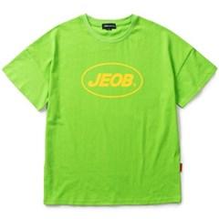 OVER FIT JEOB TEE GREEN JBT00035-7