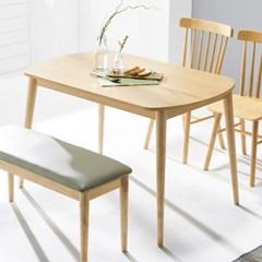 [데코마인] 시드 4인식탁/테이블/원목식탁