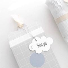 흰구름 땡큐택(10개)