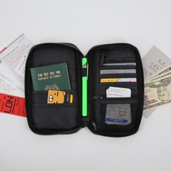 트래블 여권 파우치