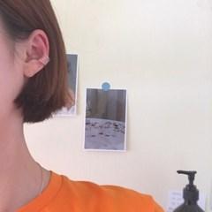 [이어커프 귀찌 귀걸이] 아크커프 이어링