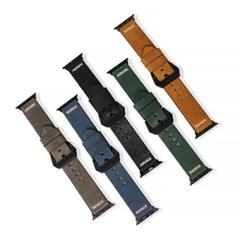게이즈 애플워치 6/SE 가죽 밴드 시리즈 5/4/3 44mm,42mm 호환스트랩