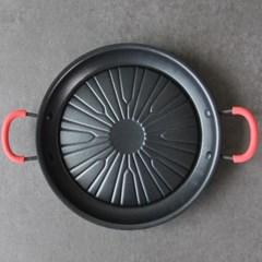 가정용 경질 불고기판 28cm /불고기전골팬 2~3인용