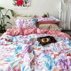 핑크산호초 60수 호텔침구 여름이불세트