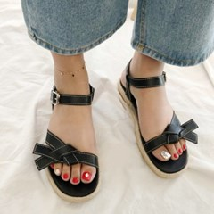 kami et muse Stitch knot strap espdrille sandals_KM19s223