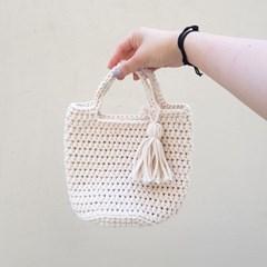 [텐텐클래스] (부산) 코바늘 통통이 뜨개가방 클래스