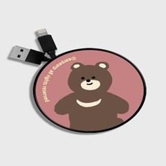 Board bear-dark pink(스마트릴)_(1175529)