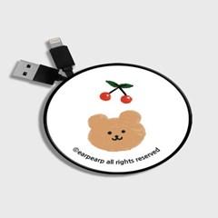 Dot cherry bear-white(스마트릴)_(1175527)