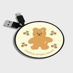 Four cherry bear-Creamyellow(스마트릴)_(1175502)