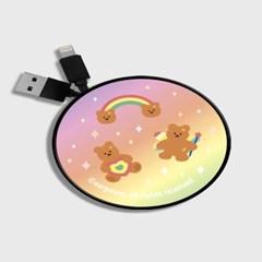 Rainbow bear-pink/yellow(스마트릴)_(1175499)