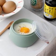 (국산) 파스텔 실리콘 계란 반숙기 (전자렌지 1분) - 3c_(1018338)